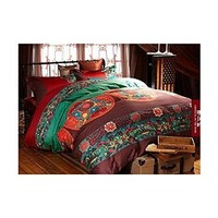 Cliab Boho Bedding Bohemian Bedding Exotic Bedding Queen Egyptian Cotton Duvet Cover Set