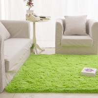 Free Shipping Fluffy Rugs Anti-Skid Shaggy Area Rug Dining80X120 Bedroom Carpet Floor Mat E#A