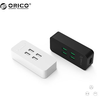ORICO DCV-4U 20W 4 Port USB Charger with Super Charging Technology for Your Phone Tablet and More