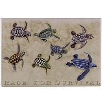 Race For Survival Refrigerator Magnet