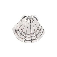 Floating Sea Shell Charm Compatible With Origami Owl Lockets