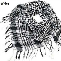 HOT Arab Shemagh Keffiyeh Military Tactical Palestine Light Scarf Shawl = 1957845252
