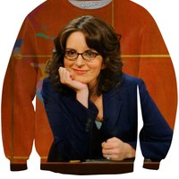 Tina Fey Weekend Update Crewneck Sweatshirt