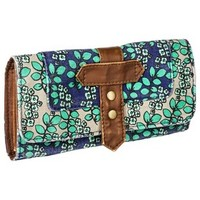Mossimo Supply Co. Floral Print Wallet - Blue