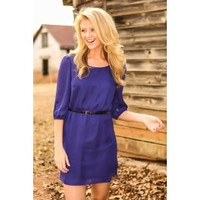 Sugar & Spice Tunic-Royal