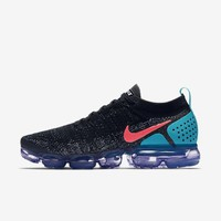 Nike Air Vapormax 2 Flyknit 2018 Black Blue 942842 003