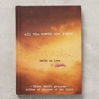 All The Words Are Yours by Anthropologie in Brown Motif Size: One Size Books