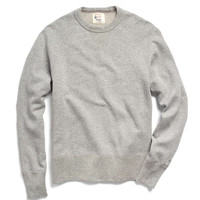 Crewneck Sweatshirt in Grey Snow Heather