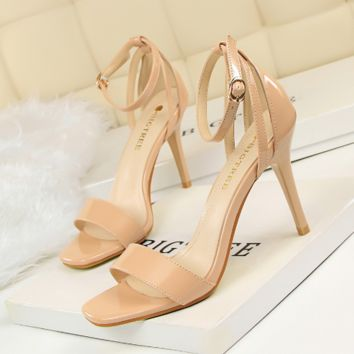 Ankle Strap Covers High Heel Sandals 1616