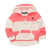Product: Carter's® Baby Girls' Coral/White Striped Hoodie