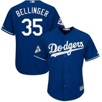 Men's Los Angeles Dodgers Cody Bellinger Majestic Royal 2017 World Series Bound Cool Base Player Jersey