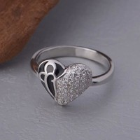 Gift Stylish New Arrival Shiny 925 Jewelry Ring [7495451143]