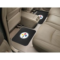 """Pittsburgh Steelers NFL Utility Mat (14x17"""")(2 Pack)"""""""
