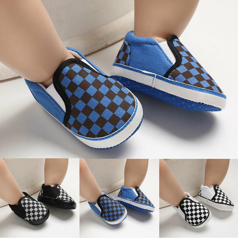 Image of Baby Soft Sole Vans Shoes (Multiple Colors and Sizes Available!)