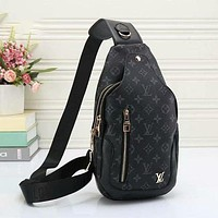 LV Louis Vuitton retro men's wild waist bag chest bag shoulder bag