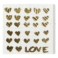 Oliver Gal 'In the Papers' Wall Art - Beige
