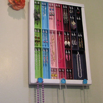 Printers drawer jewelry display in a by BlackForestCottage on Etsy