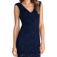 Backstage Kimberly Dress in Navy