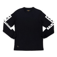 10 Deep: Triple Box Long Sleeve Shirt - Black