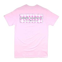 Preppy Plaid Logo Tee by Simply Southern