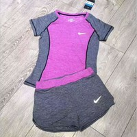 NIKE Women Sportswear running yoga Two-Piece for women set H-YF-MLBKS