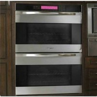 """Dacor MOH230S Stainless Steel w/ Horizontal Black Glass 30"""" Millenia Discovery Double Wall Oven"""