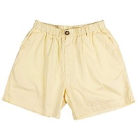 """Longshanks 5.5"""" Chino Shorts in Maize Yellow by Country Club Prep"""