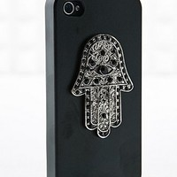Hamsa Hand iPhone Cover in Black - Urban Outfitters