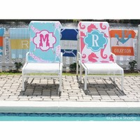 Personalized Beach Towel in Galloping Giraffes