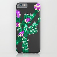 Flowering Cactus iPhone & iPod Case by K_c_s