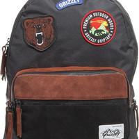 Grizzly Outdoor Goods Backpack Black