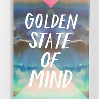 Golden State Of Mind Wall Art - Urban Outfitters