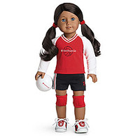 American Girl® Dolls: Volleyball Set for Dolls + Charm