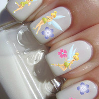 Tinkerbell Nail Decals