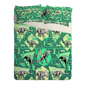Chobopop Nineties Dinosaur Skeleton Pattern Sheet Set Lightweight