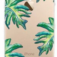 Tropical Leaves Soft Tpu Case for Apple iPhone 6
