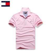 tommy polo Summer crocodil Men Polos shirt styles Men and Women Polos Shirt Business Sports Fashion Korean Slim Clothing casual