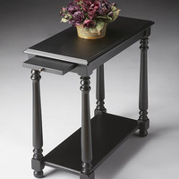 Butler Specialty Black Licorice Chairside Table - 5017111