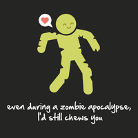Funny Valentines Card - Zombie Love Card - Funny Valentine Card - Walking Dead Card - Funny Zombie Card - Zombie Lover Card