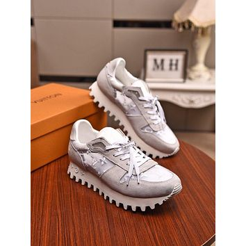 lv men fashion boots fashionable casual leather breathable sneakers running shoes 3