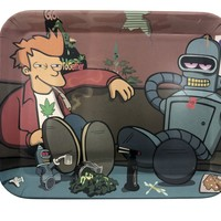 Bender and Fried Bamboo Fiber Tray (7.5 x 6)