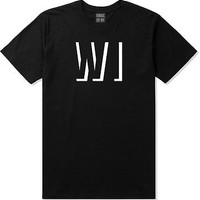 Kings Of NY Wisconsin WI City State Black T-Shirt