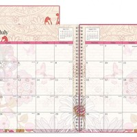 July 2015 - June 2016 Lianne Frosted Weekly/Monthly Planner 8.5x11