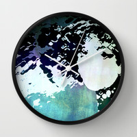 LADY-SILEX-2 Wall Clock by Pia Schneider [atelier COLOUR-VISION]