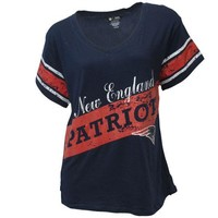 New England Patriots Sleepwear Short Sleeve