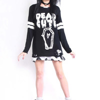 DEAD CUTE TORN SWEATER FROM IRON FIST