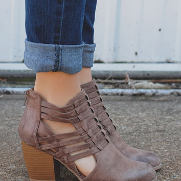 Trend Spotter Bootie - Taupe