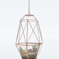 Urban Grow Hanging Cooper Cocoon Terrarium - Urban Outfitters