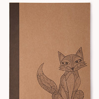 Foxy Notepad | FOREVER 21 - 1000076249