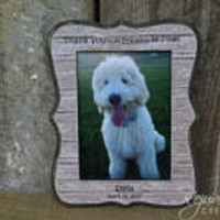 5 x 7 frames pet frames personalized frames personalized gifts pet gifts pet memorials dog frames puppy frames pet gifts rescue dogs